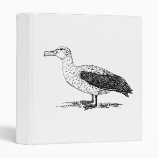 Albatross Bird Art Vinyl Binder