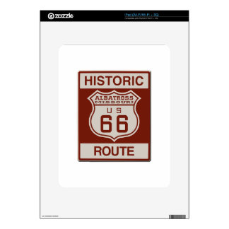 Albatross Route Sixty Six Decals For iPad