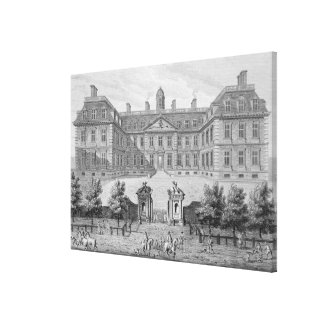 Albemarle House, formerly Clarendon House, London, Canvas Print