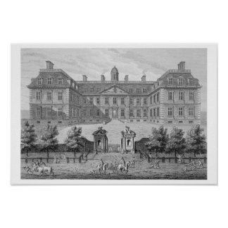 Albemarle House, formerly Clarendon House, London, Poster