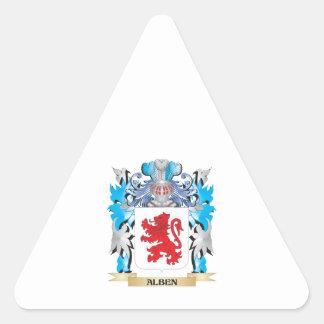 Alben Coat Of Arms Stickers