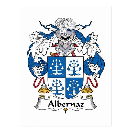 Albernaz Family Crest Postcard