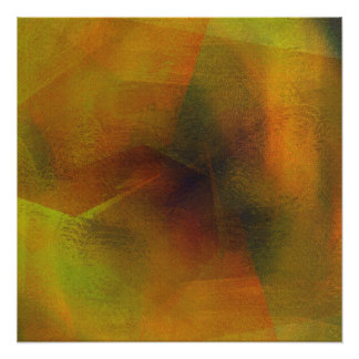 Albers Revisited Digital Overlay Abstract Poster