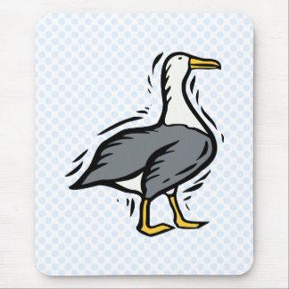 Albert Albatross Mouse Pad