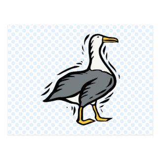 Albert Albatross Post Card