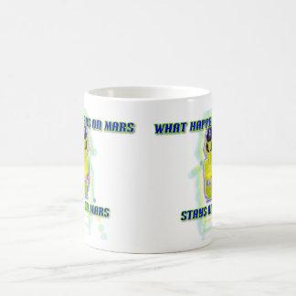 Albert Alien Tee 11 Oz Magic Heat Color-Changing Coffee Mug