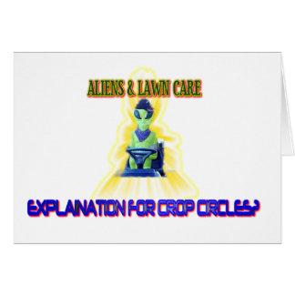 Albert Alien Tee Card