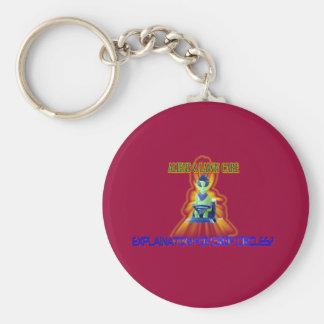 Albert Alien Tee Key Chains
