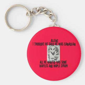 Albert Alien Tee Key Chain