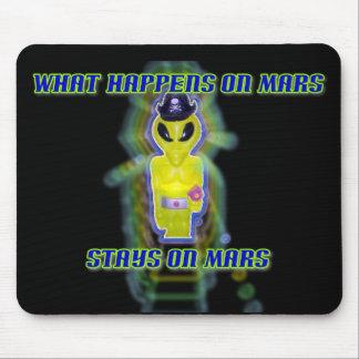 Albert Alien Tee Mouse Pad