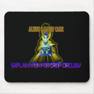 Albert Alien Tee Mousepad