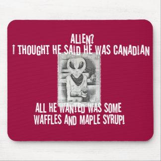 Albert Alien Tee Mouse Pads