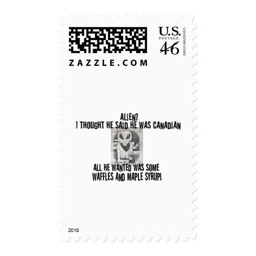 Albert Alien Tee Stamps