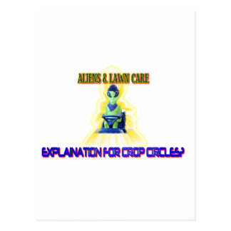 Albert Alien Tee Postcard