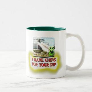 Albert Alien Tee Two-Tone Coffee Mug
