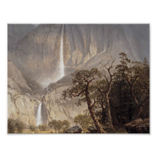 Albert Bierstadt, 1830-1902 Cho-looke, the Yosemit Poster