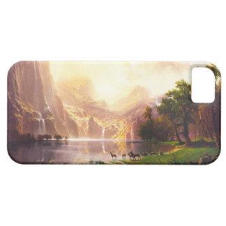 Albert Bierstadt Among the Sierra Nevada iPhone 5 Cases