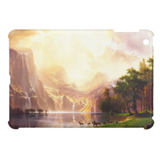 Albert Bierstadt Among the Sierra Nevada iPad Mini Cases