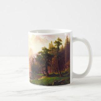 Albert Bierstadt Among the Sierra Nevada Mugs