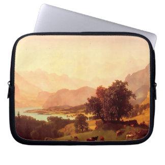 Albert Bierstadt Bernese Alps 1859 Computer Sleeve