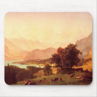 Albert Bierstadt Bernese Alps 1859 Mouse Pad