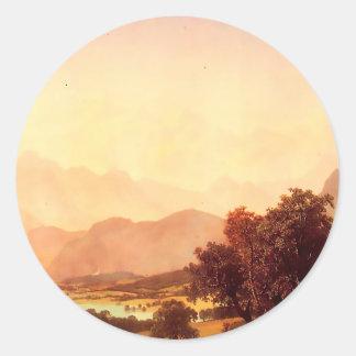 Albert Bierstadt Bernese Alps 1859 Sticker