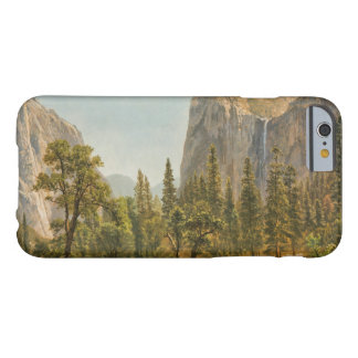 Albert Bierstadt - Bridal Veil Falls, Yosemite Barely There iPhone 6 Case