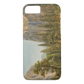 Albert Bierstadt - Bridal Veil Falls, Yosemite iPhone 8/7 Case