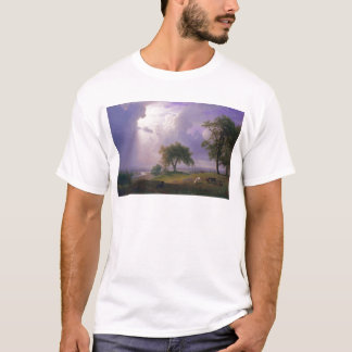Albert Bierstadt California Spring Cattle T-Shirt