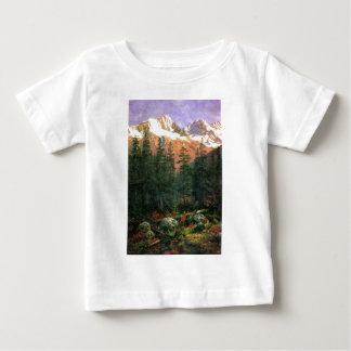 Albert Bierstadt Canadian Rockies Baby T-Shirt