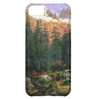 Albert Bierstadt Canadian Rockies iPhone 5C Cover