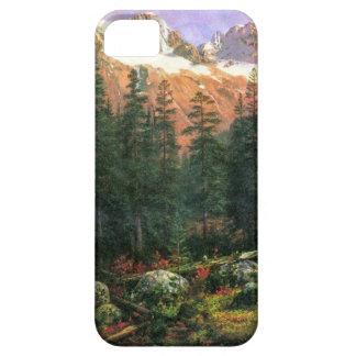 Albert Bierstadt Canadian Rockies iPhone 5 Covers