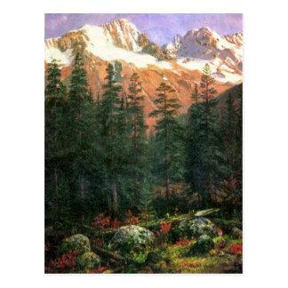 Albert Bierstadt Canadian Rockies Postcard