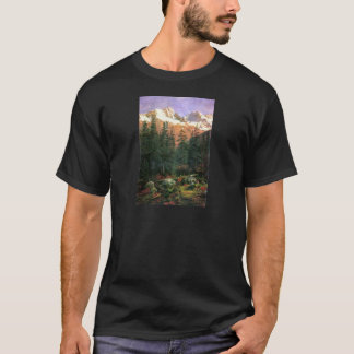 Albert Bierstadt Canadian Rockies T-Shirt