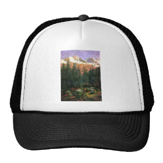 Albert Bierstadt Canadian Rockies Trucker Hat