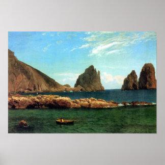 Albert Bierstadt-Capri Impresiones
