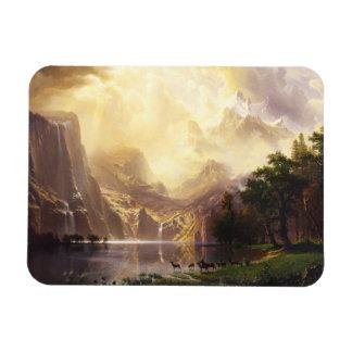 Albert Bierstadt en el imán de las montañas