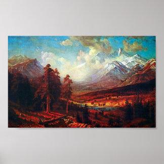 Albert Bierstadt-Estes Park Poster