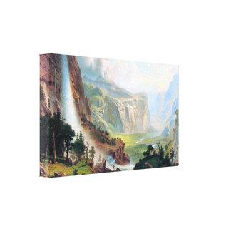 Albert Bierstadt - Half Dome in Yosemite Canvas Print