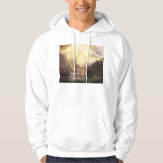 Albert Bierstadt In The Mountains Hoodie