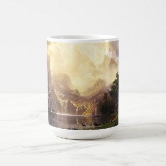 Albert Bierstadt In The Mountains Mug