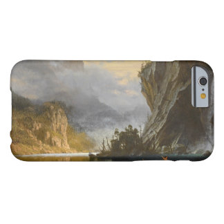 Albert Bierstadt - Indians Spear Fishing Barely There iPhone 6 Case