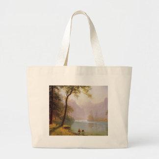 Albert Bierstadt, Kerns River Valley California Jumbo Tote Bag