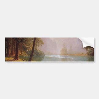 Albert Bierstadt, Kerns River Valley California Bumper Sticker
