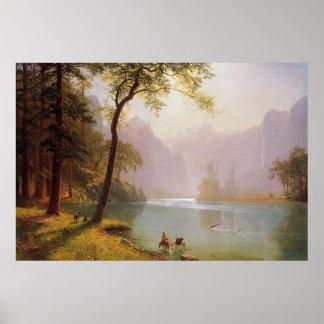 Albert Bierstadt, Kerns River Valley California Poster