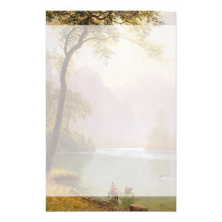 Albert Bierstadt, Kerns River Valley California. Stationery