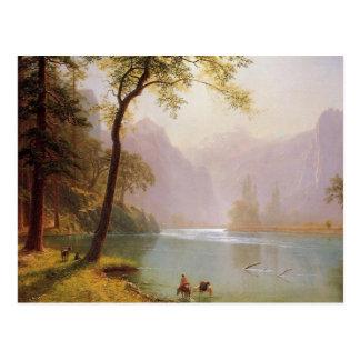 Albert Bierstadt, Kerns River Valley California Postal