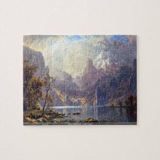Albert Bierstadt - Lake Tahoe puzzle