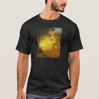 Albert Bierstadt Light in the Forest T-Shirt