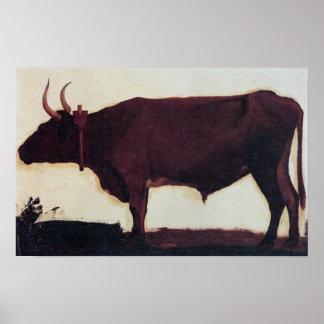 Albert Bierstadt-Ox Poster